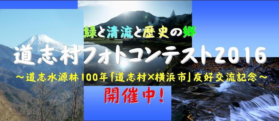 道志村フォトコンテスト2016